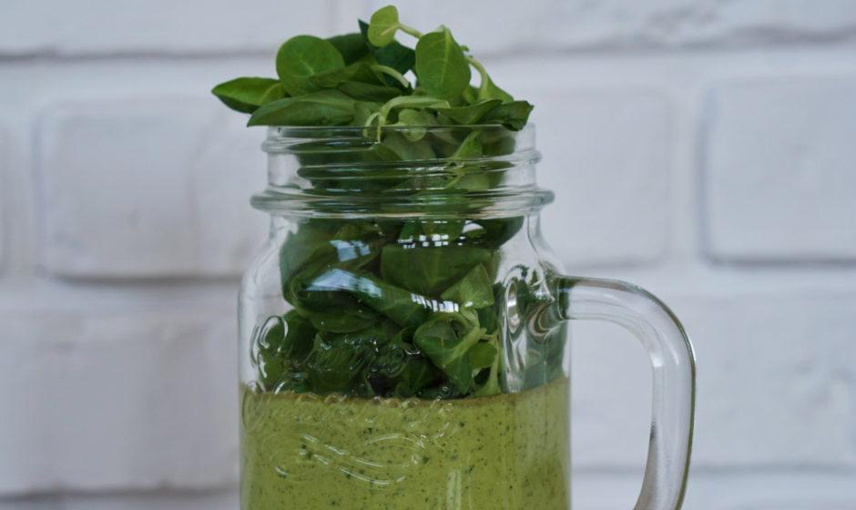 Koktajl zielony z awokado