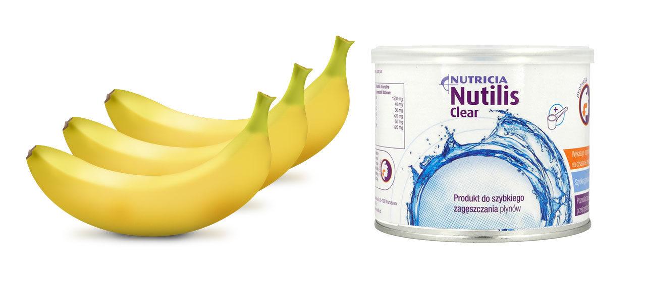 Przepis banan Nutilis