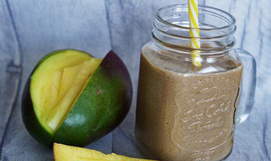 Czekoladowy koktajl z mango