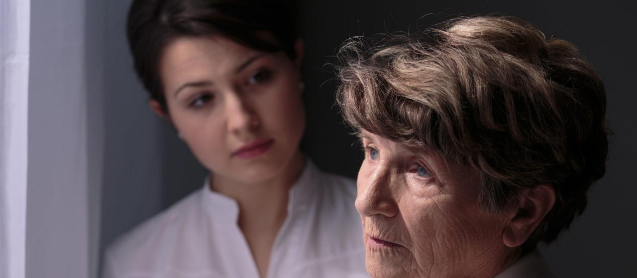 Rozmowa z osobą chorą na Alzhaimera.
