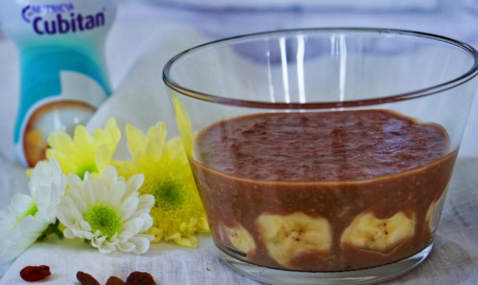 Ryżanka czekoladowa z rodzynkami