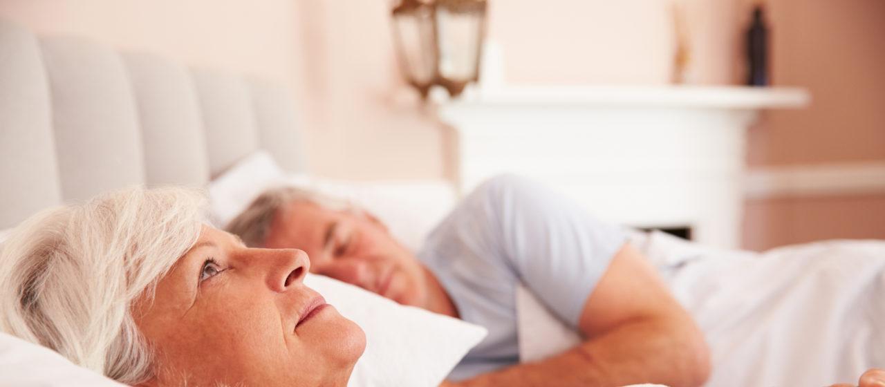 Zaburzenia snu a Alzhaimer