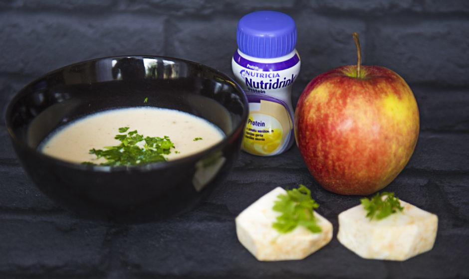 Zupa selerowa z waniliową nutą
