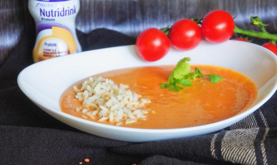 Zupa z batatów i soczewicy