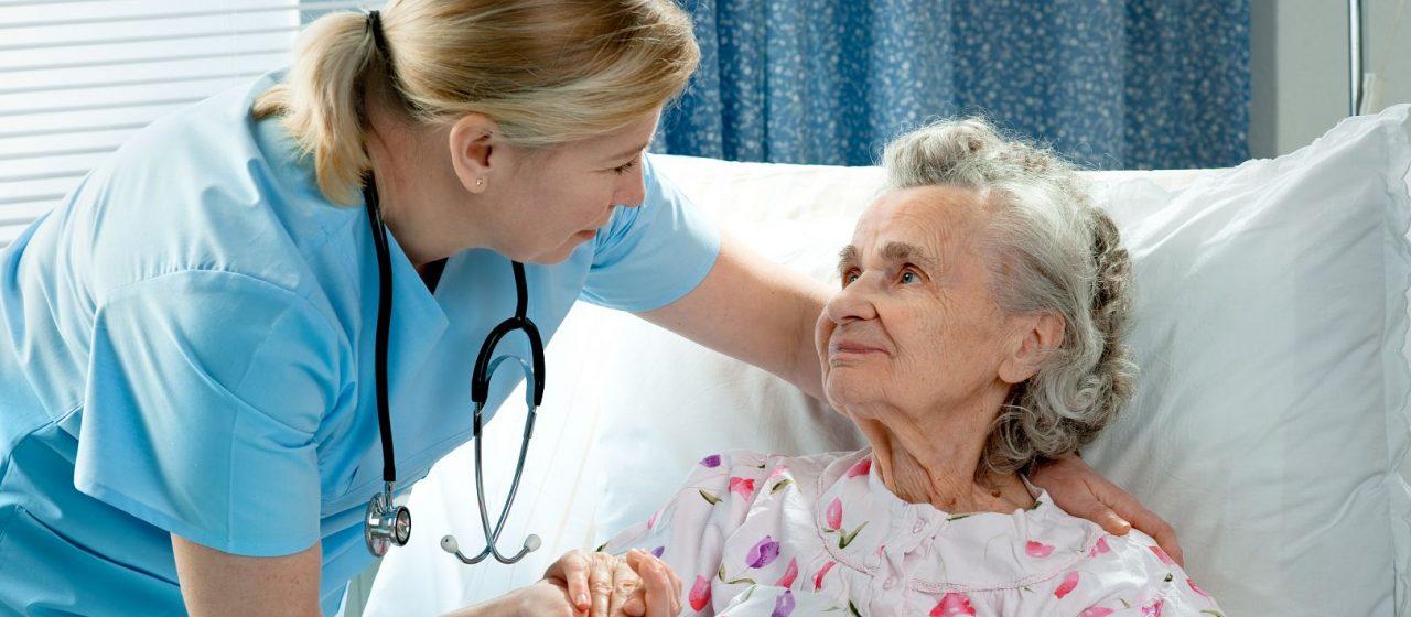 Opieka nad osobą z odleżynami